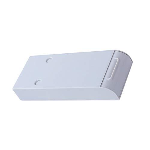NUOBESTY Stifteköcher Selbstklebende Unter Schreibtisch Schubladen Unsichtbare Desktop Aufbewahrungsbox Unter Tisch Schrank Bürok Zuhause Schule (Zufällige Farbe)