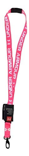 Under Armour Undeniable Lanyard, Pink (653)/White, One Size Fits All
