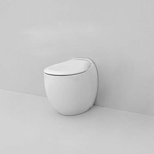 WC à Terre Blend The Artceram Art. blb002 Cache-Pot amortie Non Inclus