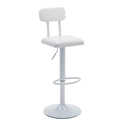 CCLC Vintage smeedijzeren stoel lift draai barkruk barkruk modern minimalistische huis reception stoel rugleuning