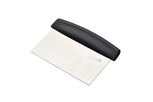 MasterClass Dough Scraper/Cutter, Stainless Steel, Silver, 15 x 7.5 cm