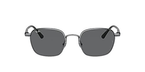 Ray-Ban 0RB3664 Gafas, Gunmetal, 50 Unisex
