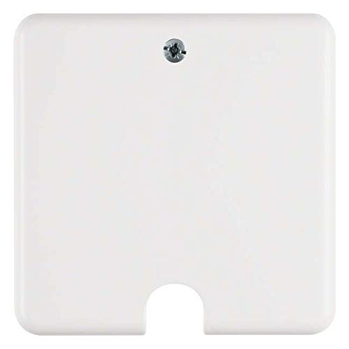Berker UP-Herdanschlussdose 447709 polarweiss, Weiß, 85, 8 x 85, 8 mm