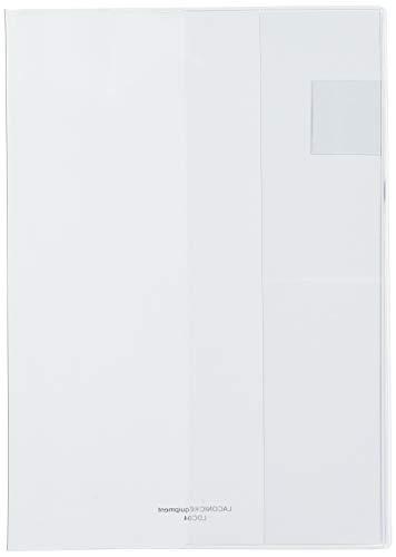 ラコニック 手帳カバー A5 マンスリー用 ビニール クリア LDC04-45CL