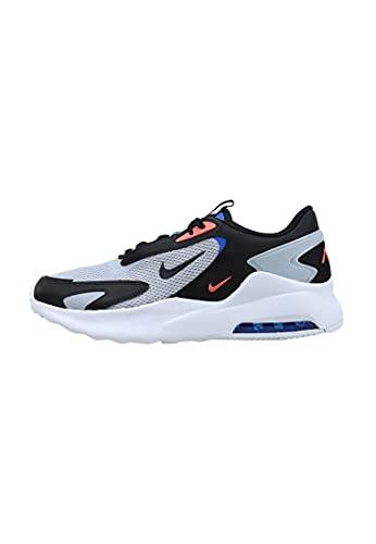 Nike Air MAX Bolt, Zapatillas para Correr Hombre, Wolf Grey Black White Racer Blue, 38.5 EU