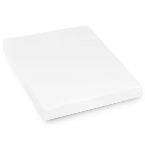 Protège Matelas imperméable 180x200 cm Bonnet 40cm Arnon Molleton 100% Coton contrecollé polyuréthane