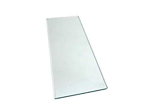 Taytools 279144 One Piece 5/16 x 5 x 12 Dead Flat Float Glass for Scary Sharp Sharpening System