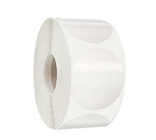 【CRSHIP】円形シール ステッカー 丸型 ロール 直径25ミリ ラベル 1000枚 透明