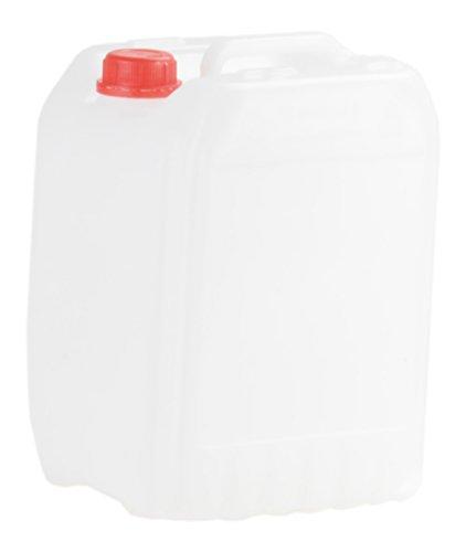 hünersdorff 426301 Industrie-Kanister 10 Liter, HD-PE, naturfarben