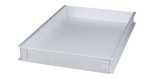 VanDeBord Einschub Aluminium Flach (KSSU), Schublade, Schubkasten, Drawer, Zubehör für Flugzeugtrolleys, Airline Trolleys und Bord Boxen