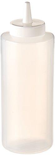 Winco - Botellas de presión (6 unidades, 12 oz), transparente