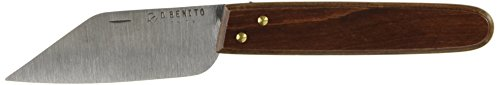 Flores Cortés – Couteau INOX Droite modèle andalou 90 mm.