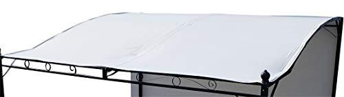 Dachplane wasserfest für Anlehn Pavillon 7107 - kein Umtausch oder Rückgaberecht von AS-S