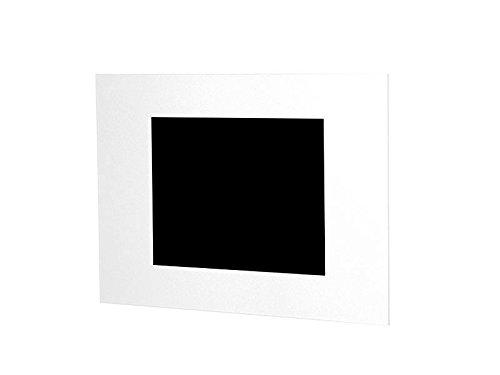TabLines TWE047QW Wandeinbau für Samsung Galaxy Tab A, 26 cm (10,1 Zoll) im Querformat weiß