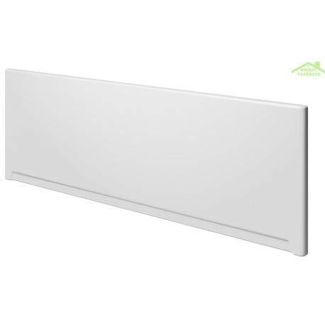 Riho Badewannenschürze, Universal, aus Acryl, Weiß, 150x57 cm