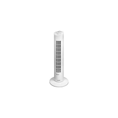 Eurom VTW31-385625 - Ventilador de columna de aire (polipropileno, oscilante, 3 velocidades, 230 V, 60 W)
