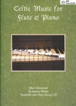 Celtic Music for Flute & Piano (Book & audio files)