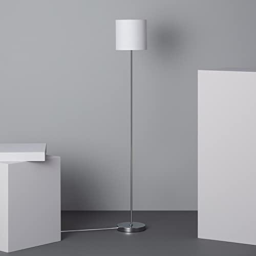 LEDKIA LIGHTING Lámpara de Pie Pangiri 1310x180x180 mm Blanco E27 Casquillo Gordo Aluminio Decoración Salón, Habitación, Dormitorio