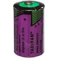 Tadiran Lithium-Batterie SL750/s (3,6 V, 1/2 AA, für Alarmsysteme), 4 Stück