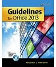 Guidelines for Microsoft (R) Office 2013: Instructor Resources Disc with EXAMVIEW (R) (Guidelines Series)