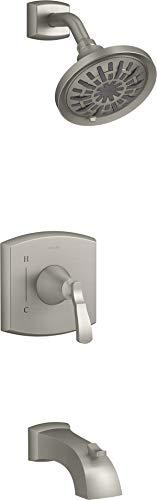 Kohler K-R30999-4M-BN Ridgeport - Juego de molduras de ducha, níquel cepillado