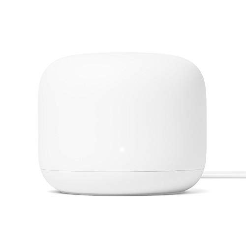 Google Nest Wifi - Router Mesh (1GB RAM, 4GB flash, Bluetooth, WPA3) color blanco