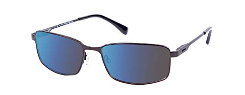 EnChroma Color Blind Glasses - Canyon Gunmetal - Outdoor Cx3 Sun - For Red-Green Color Blindness