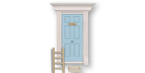 Vidal Regalos Puerta Madera Ofrenda Diente Ratoncito Perez Niño Azul 22 cm