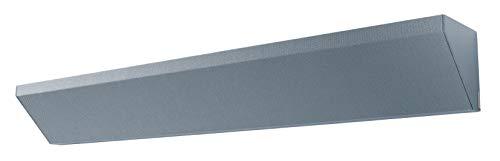 SIGEL SB310 Akustik Eckelement Wandpaneele Schallabsorber dunkelgrau, Lärmschutz, sehr hohe Schalldämmung, geprüft nach DIN EN ISO 354, Polyestervlies-Kern, 120x15x15 cm