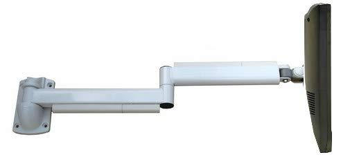 CUZZI Soho Furniture Long 39 inch Articulated LCD Monitor Wall Arm VESA Hospital Bed