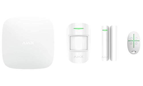 AJAX - Sistema de alarma de inicio, color blanco