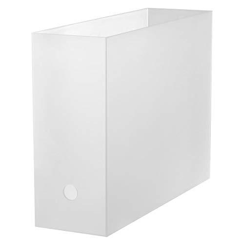 無印良品 ポリプロピレンファイルボックス・スタンダードタイプ・A4用 約幅10×奥行32×高さ24cm 02555702