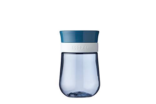Mepal Mio – 360° Trinklernbecher deep blue – Trinklernbecher ab 9 Monate – auslaufsicher – spülmaschinengeeignet