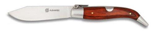 Albainox Hirtenmesser, Taschenmesser in iberischer Tradition, Olivenholzgriffschalen