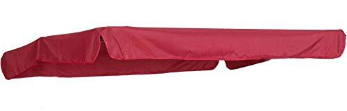 Primaster TrendLine Ersatzdach für Hollywoodschaukel Torino Rot Gartenschaukel Dachbezug
