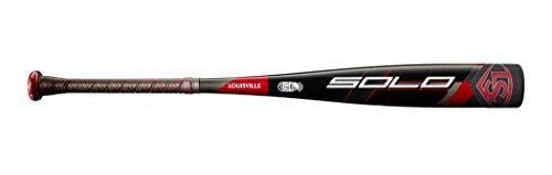 """Louisville Slugger 2020 Solo (-10) 2 3/4"""" Senior League Baseball Bat, 28""""/18 oz"""