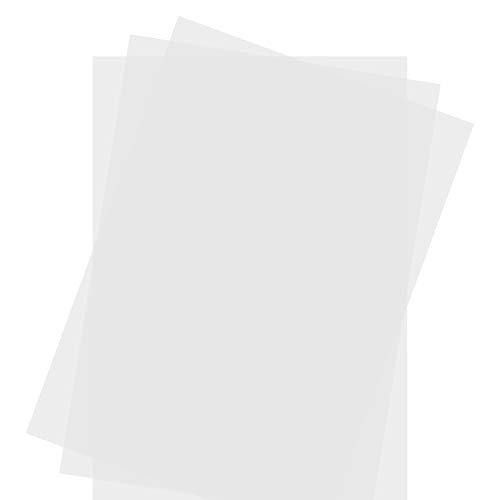 Senjo Color Schablonenfolie I 10 x DIN A4, 0,25 mm I Halbtransparente Folie zum Schneiden mit Cutter, Laser, Stencilburner und Plotter I Airbrush-Folie DIN A4 / 210 x 297mm