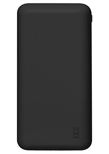 Juice 5 Charges Power Bank Portable Charger for Apple iPhone, Samsung, Huawei, Microsoft, Oppo, Sony - Black