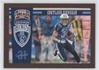 Cortland Finnegan #63/100 (Football Card) 2011 Panini Threads - Pro Gridiron Kings - Red Framed #22
