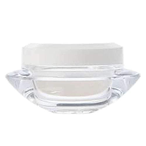 Botella cosmética de Viaje Envases cosméticos de plástico Transparente vacío Tarros de Olla de 50 Gramos Estuche para contenedores de Sombra de Ojos