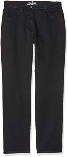 Raphaela by Brax Damen Style Corry Fay Jeans, Schwarz, 50