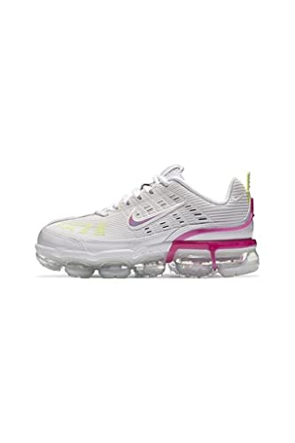 Nike W Air Vapormax 360 - Scarpe da corsa da donna, bianco (Platinum Tint/Fuoco Rosa-Bianco), 38.5 EU
