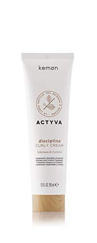 Kemon Actyva Disciplina Curly Cream - definierende Modellier-Creme für welliges oder lockiges Haar, Haar-Pflege ohne Ausspülen - 150 ml