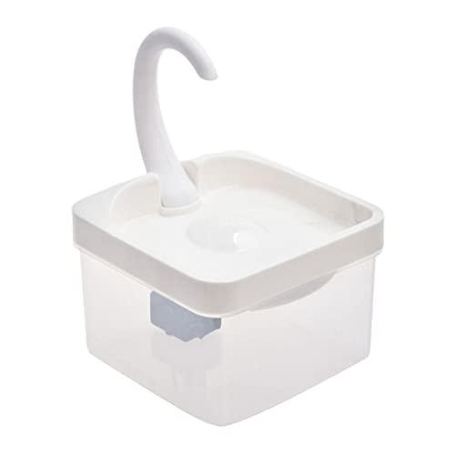 Baoblaze Fuente de Agua Potable para Gatos, dispensador de Agua silencioso para Mascotas con 5 etapas de filtración de Agua, Fuente Inteligente para Mascotas - LED avanzado