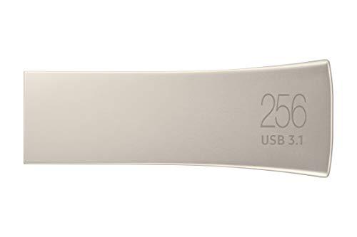 Samsung BAR Plus 256GB Typ-A 400 MB/s USB 3.1 Flash Drive Champagne Silver (MUF-256BE3/APC)