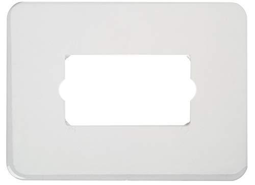 Poly Pool PP0516 Salvaparete Per Placche a Muro Rettangolari In Polistirolo Rigido, Trasparente, 2 pezzi