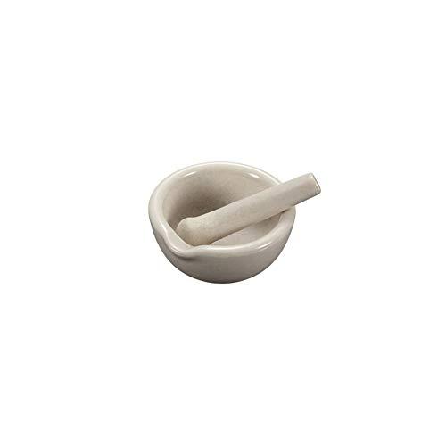 Romote Educational Porzellan Stößel Und Mörser Misch Mahlbecher Set Für Laborzubehör 60mm Durchmesser Weiß
