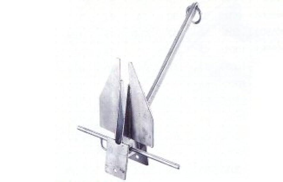 気取らないウィスキー結婚するダンホース型アンカー (鍛造打)亜鉛メッキ15kg