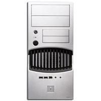 Antec BK640B-CE Micro BTX PC-Gehäuse (380W, 2x13,2 cm (5,2 Zoll), 4x8,9 cm (3,5 Zoll), 2xUSB2.0, FireWire, Audio I/O)
