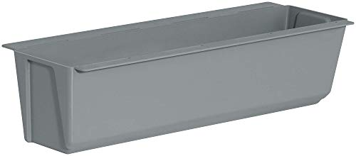 Macetero Easy para palés europeos, de plástico, 36,8 x 9 x 9,5 cm
